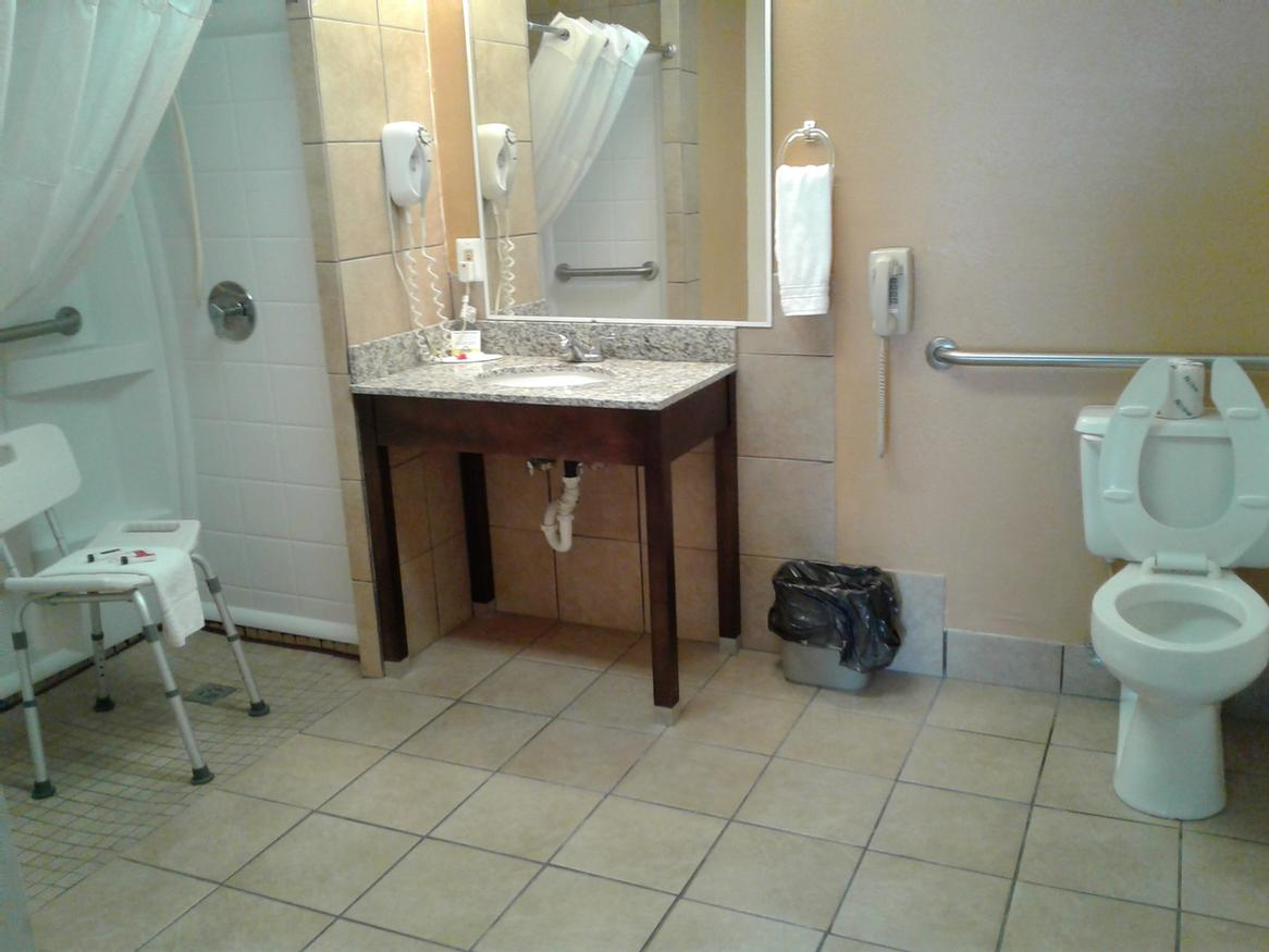 Handicapped Bathroom 2 of 9