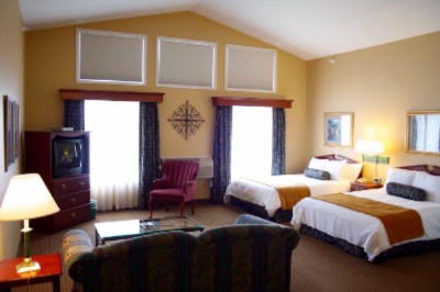 Large Two Queen Suite 8 of 21