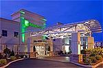 Holiday Inn & Suites Exterior Entrance Evening