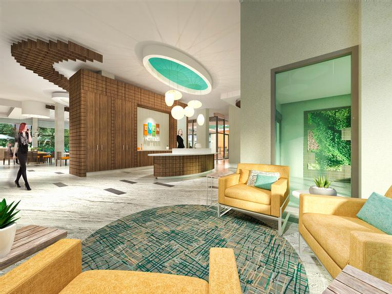 Well-Coming Hotel Lobby 5 of 9