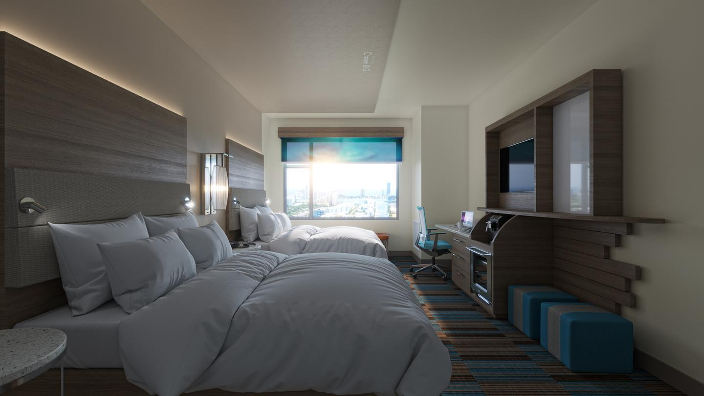 Our Well-Ness Two-Queen Beds Room With Spa Amenities 9 of 9