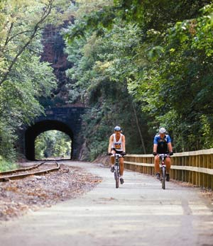 Miles Of Rail Trail Stretching From Maryland And North Through York. 3 of 13
