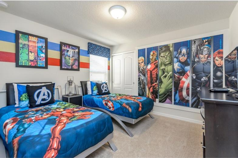 Kids Themed Bedroom Vacation Rental Home 11 of 27