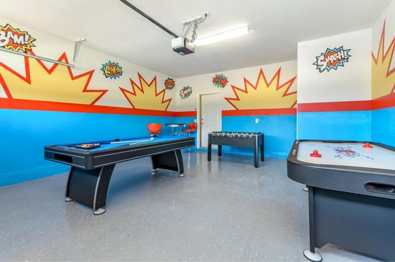 Game Room Vacation Rental Home 13 of 27