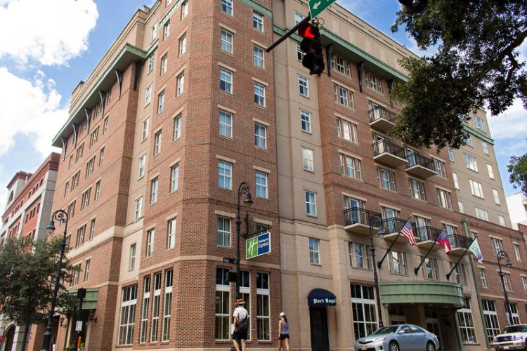 Welcome To The Holiday Inn Express Savannah Historic District 2 of 2