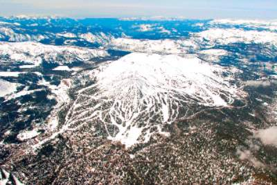 Aerial View Of Mammoth Mountain 10 of 14