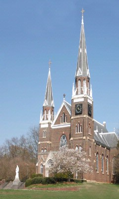 Belmont Abbey College Basillica 16 of 17