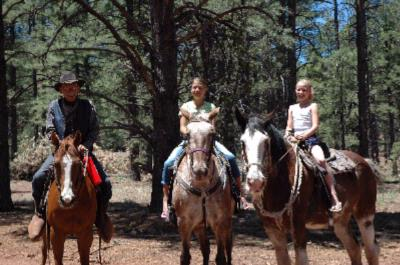 Horseback Riding Through Wilderness 14 of 15