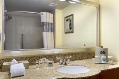 Bathroom With Granite Counters 6 of 11