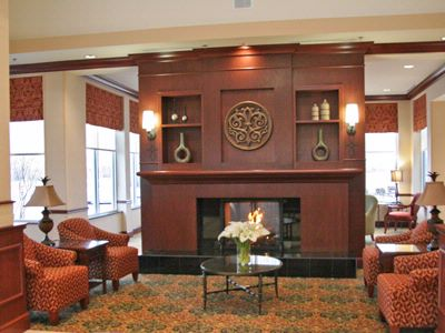 Comfortable Lobby Seating Surrounding Cozy Fireplace. High-Speed Internet Access Is Provided Throughout The Entire Property. 4 of 19