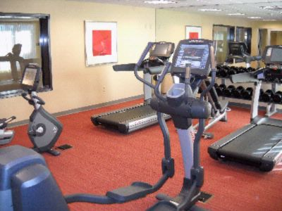 Hyatt Place Reno Tahoe Airport -Fitness Center With Life Fitness Machines Open 24-7 14 of 16