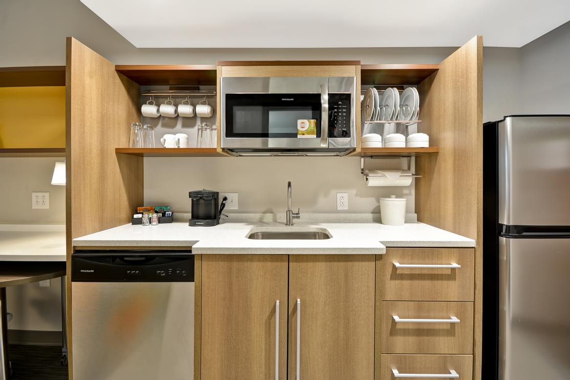 In-Suite Kitchen 7 of 10