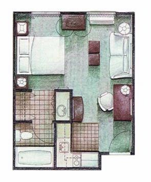 Studio Suite Layout 21 of 31