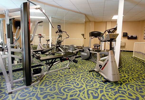 Enjoy A Workout In Our Fitness Room 9 of 10