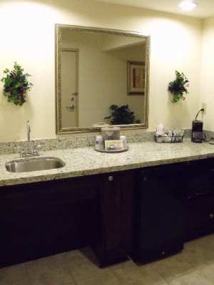 Accessible Room Wet Bar 24 of 31