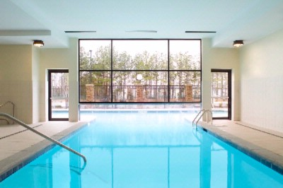 Combined Indoor Outdoor Heated Pool 6 of 16