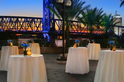 Outdoor River Decks For Evening Events 6 of 11