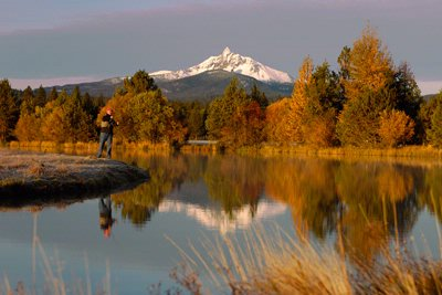 Fly Fishing On Phalarope Lake At Black Butte Ranch 25 of 30