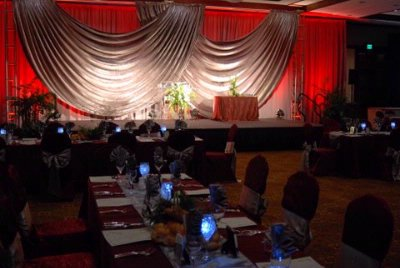 Ballroom Set For Special Anniversary Event 11 of 19