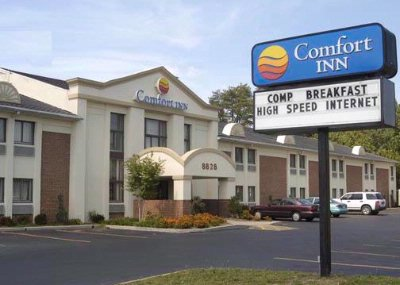 Comfort Inn Ft. Meade Comfort Inn Front