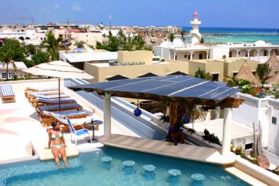 Hotels near downtown playa del carmen in riviera maya for Illusion boutique hotel