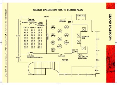 Grand Ballroom Floor Plan 11 of 16