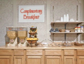 Complimentary Continental Breakfast 5 of 7