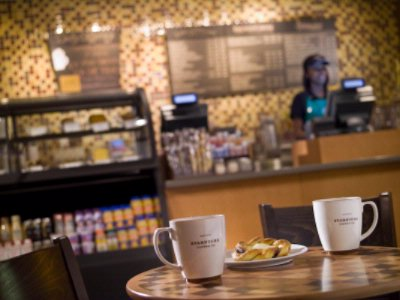 Located On The Lobby Level Starbucks Is A Popular Choice For A Quick Breakfast Mid-Day Snack Or Evening Pick-Me-Up. 5 of 15