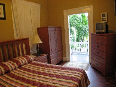 1 Double Bed- Small Cozy Guest Room. 9 of 10