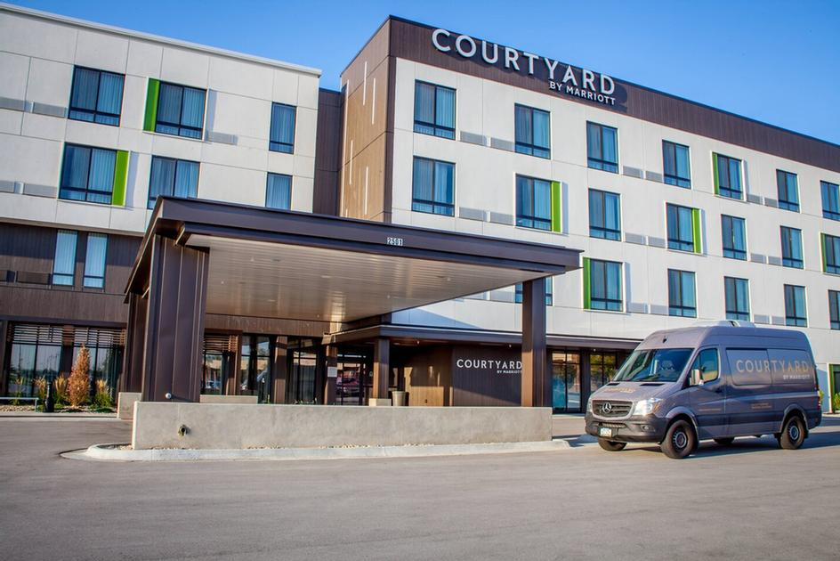 Courtyard By Marriott Sioux City Downtown Convention Center Sioux City Ia 801 4th 51101
