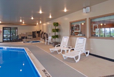 Enjoy Our Indoor Pool And Spa Open Year Round! 5 of 9