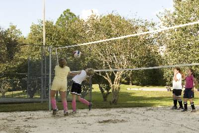 Have A Little Friendly Competition With Our Sand Volleyball Court! 11 of 14