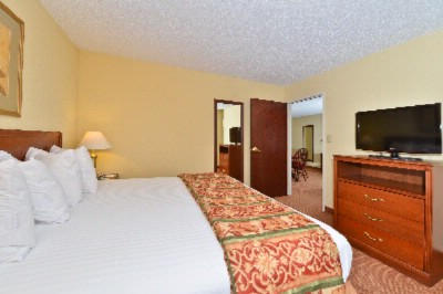 Make Yourself At Home In Our Suite Featuring A Living/dining Area And Separate King Bedroom. 18 of 18