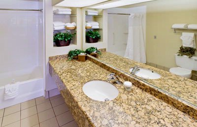 Large Bathrooms With Granite Counter Tops 13 of 14