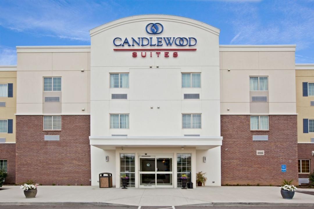 Candlewood Suites Spacious And Inviting Lobby.