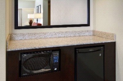 Microwave & Fridge -Standard In Every Suite 20 of 21