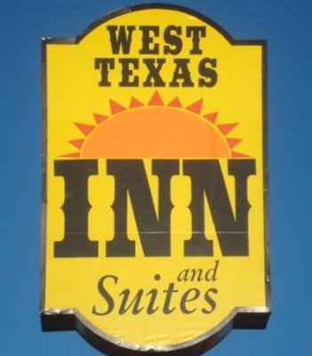 West Texas Inn Sign 8 of 8