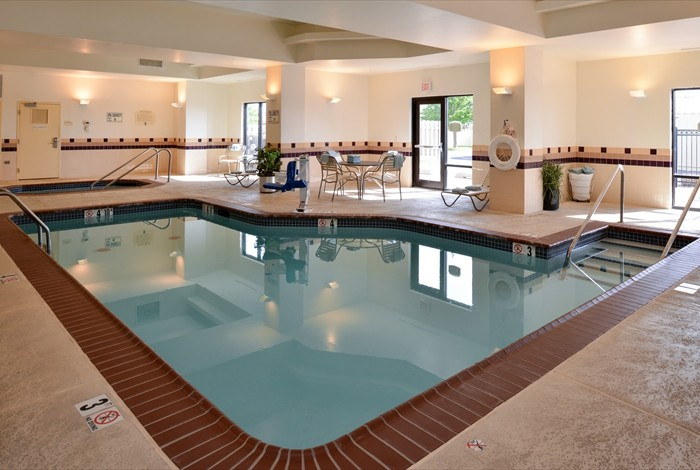 Begin Or End Your Day With A Swim In Our Sparkling Indoor Pool Or Unwind In The Hot Tub. 6 of 12
