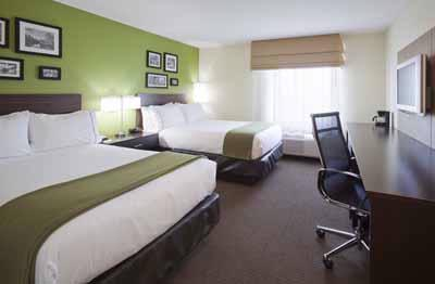 Double Queen Bedroom At The Holiday Inn Express & Suites Rogers Mn 15 of 22