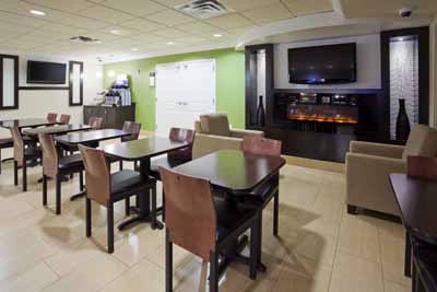 Breakfast Room At Holiday Inn Express & Suites Rogers Mn 5 of 22