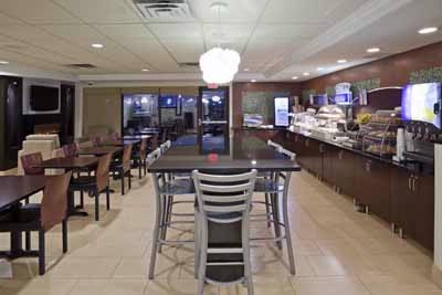 Breakfast Room At Holiday Inn Express & Suites Rogers Mn 6 of 22
