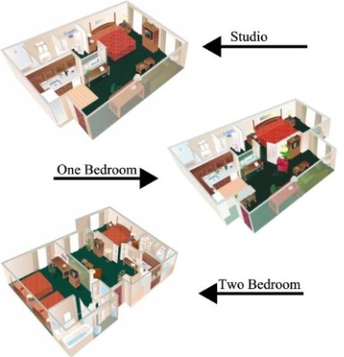 3d Layout Of Rooms 6 of 7