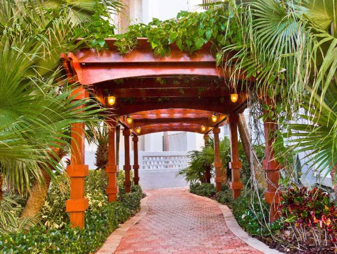 Pergola Walkway To Pool From The Lexington Hotel Miami Beach 19 of 30
