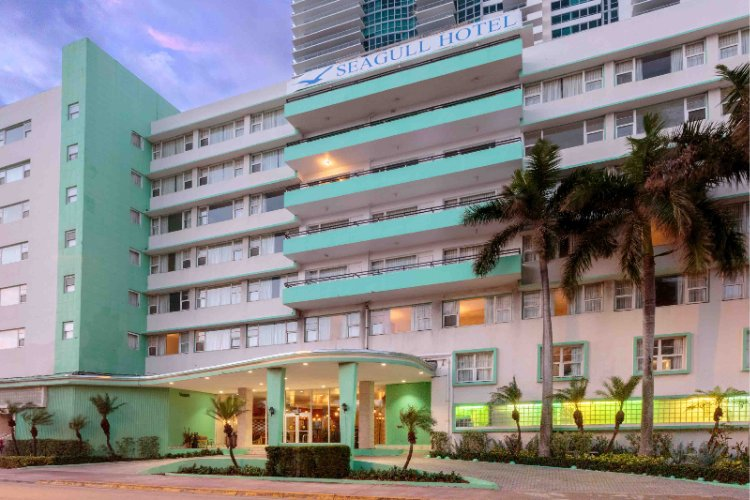 Seagull Hotel Miami Beach Morning Exterior 3 of 20