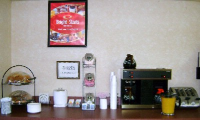 Econo Lodge North Breakfast Area