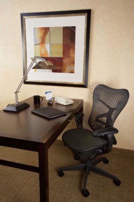 Work Desk With Ergonomic Mirra Chair 4 of 15