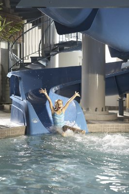 Big Blue...165ft Indoor Waterslide 9 of 24