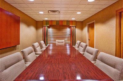 Our Boardroom Is Perfect For Small Meetings. 9 of 10