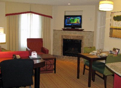 One Bedroom Living Room With Fireplace 3 of 12