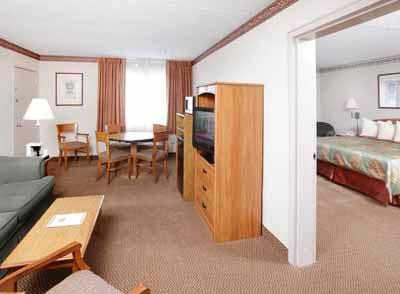 Two Room Suite With Either 1 King Bed Or 2 Full Beds 5 of 7